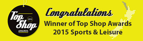 Winner of Top Shop Awards 2015 Sports & Leisure