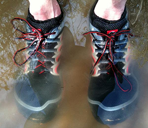 Wet Running Shoes