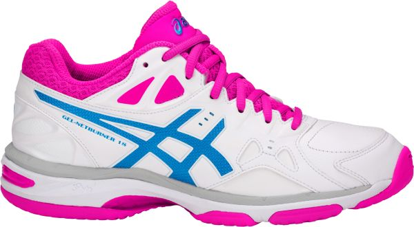 ASICS GEL-Netburner 18 White Womens