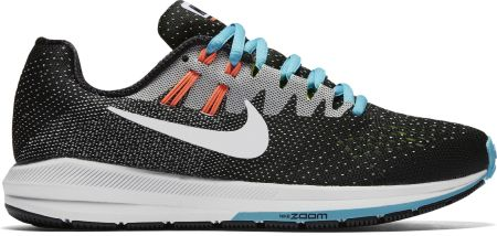 Nike Air Zoom Structure 20 Black Standard Fit Women